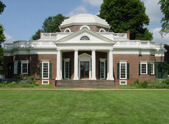 Monticello's West Front