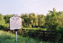 Historic Marker at Shadwell