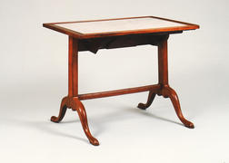 Marble Trestle Table