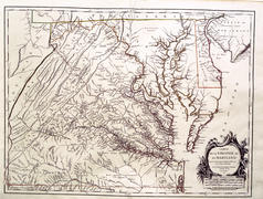Fry-Jefferson Map of Virginia